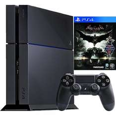 Playstation 4 + Batman Arkham Knight + 89,75€ in Superpunkten für 349€ bei Rakuten