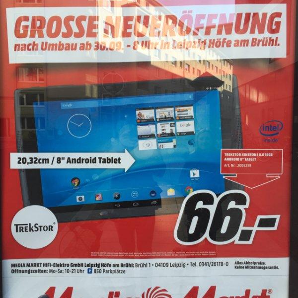 [Leipzig Lokal] Trekstor Xintron I 8 Tablet @mediamarkt am Brühl
