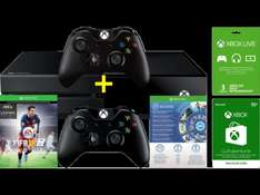 [SATURN.AT - NUR HEUTE] MICROSOFT Xbox One + 2 Controller+ FIFA 16 (DLC) + 1 Monat EA Access + Xbox Live 3 Monate + Xbox 10 € Guthaben = 369 € VSK-Frei in Ö