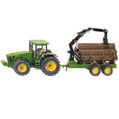 Siku 1954 - Traktor mit Forstanhänger Amazon-Prime