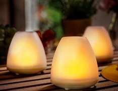 Philips Solarleuchte Candle 2er Pack für 12€ bei Brands4friends