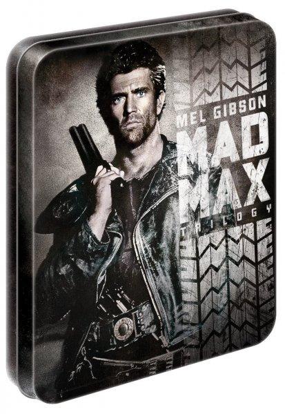 Mad Max 1-3 Trilogie (Steelbox) (Blu-ray) für 20,45€ bei Amazon.it