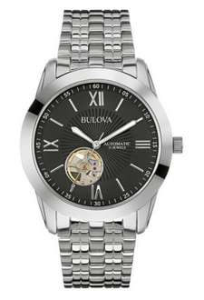 [Amazon.co.uk] Bulova Herren-Armbanduhr Automatik Analog Edelstahl