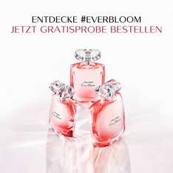 Gratis Probe Shiseido Everbloom Parfum bestellen