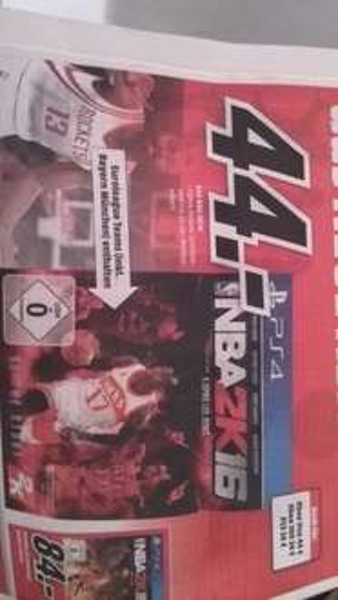 [Media Markt]NBA2K16 für PS4 und XBOX ONE