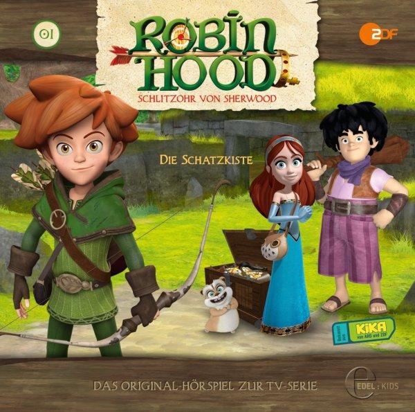 [Hörbuch] Robin Hood - Schlitzohr von Sherwood - Die Schatzkiste Folge 1 // ab 07.10.2015 kostenlos