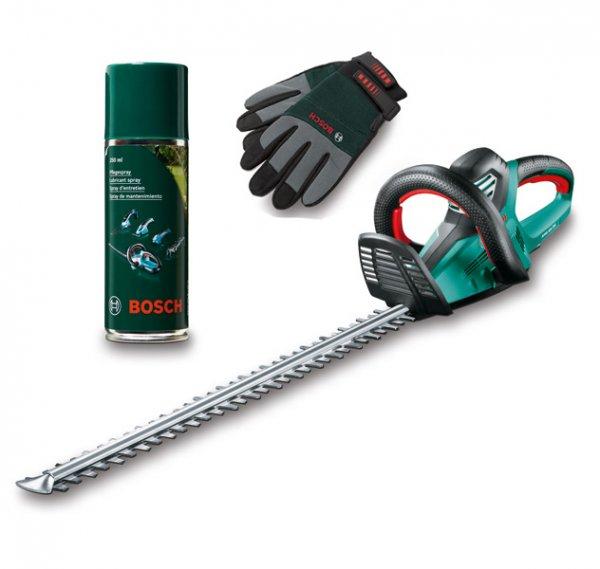 ebay: Bosch Heckenschere AHS 70-34 inkl. Pflegespray und Handschuhe