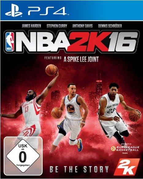 NBA 2K16 - PS4 und Xbox One für je 54,99€ @Amazon.de