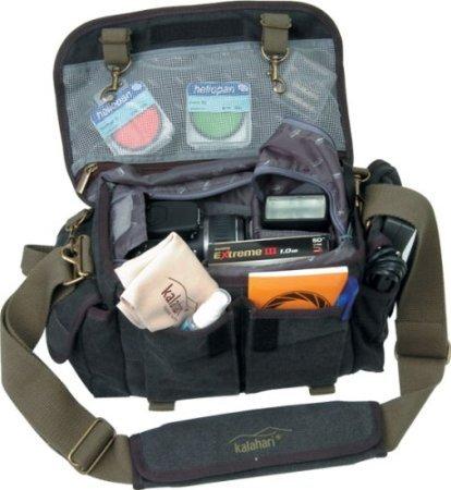 Fototasche Kalahari Mata K-11 schwarz Amazon 40,15€ inkl.