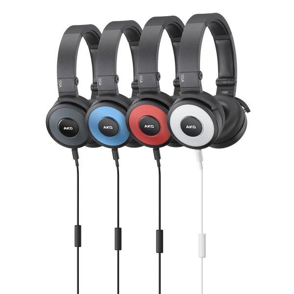 AKG Y55 DJ-Kopfhörer mit Fernbedienung Faltbar für 49,99€ @eBay