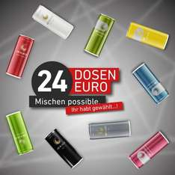 28 Black ( Schwarze Dose ) im 24er Tray für 24€ + Pfand 6€ + VSK 4,90€ ( ab 2 Trays VSK-Frei )