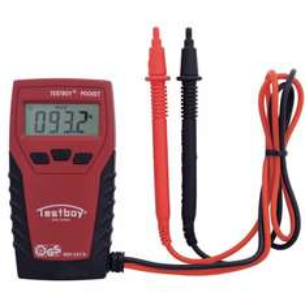 "Testboy Pocket Multimeter ""CAT III 300 V"" inkl. Versand für 29 € statt 35 €, @Voelkner"