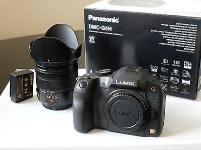 [Lokal Mediamarkt Dresden-Kaufpark ] Panasonic Lumix DMC-G6HEG-K Systemkamera mit Objektiv Lumix G 14-140mm f.599 - PVG ~680€