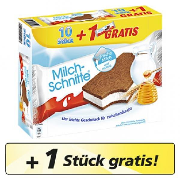 [Lokal Globus Limburg] 11er Pack Milchschnitte