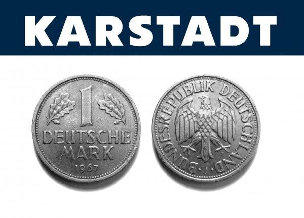 Karstadt - Mit D-Mark zum attraktiven Kurs bezahlen - 25. Jahre Deutsche Einheit