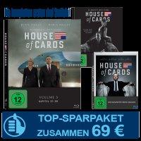 """Jahresabo der Zeitschrift """"Cinema"""" + """"House of Cards Staffel 1-3"""" auf Blu-ray für 69€"""