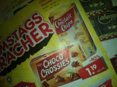 Choco Crossies/Choclait Chips 1,19€ Netto Samstagskracher
