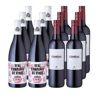 Vinos Españoles 12 Pack Wein für 35,16€ bei Weinfreunde