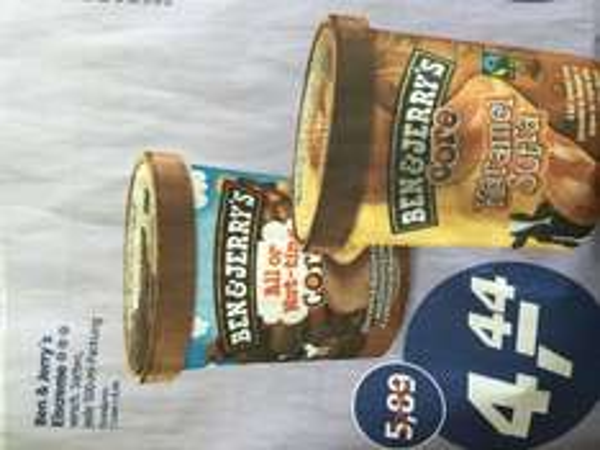 Ben & Jerry's Eiscreme [Real Dortmund-Oespel]