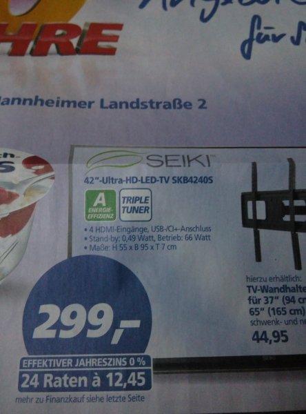 "[Real Brühl] Seiki 42"" 4K LED TV"