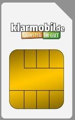 Klarmobil SIM-Karte + 36,00 Euro AMAZON Gutschein kostenlos