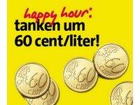 Für alle Österreicher unter uns.....Avanti: Tanken für 60 Cent/Liter (Benzin oder Diesel) – zwischen dem 04.10 und 18.10.2015.Jeweils Sonntags zw. 9-11 Uhr – an ausgewählten Tankstellen