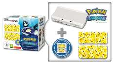 [Amazon.fr] New Nintendo 3DS inkl. Pokemon Alpha Saphir + New Super Mario Bros 2 für 202,30€