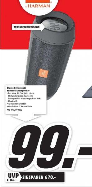 [Lokal Mediamärkte Karlsruhe] Nur gültig am 05.10...JBL Charge 2+ Wireless Bluetooth-Lautsprecher mit Mic Schwarz für 99,-€