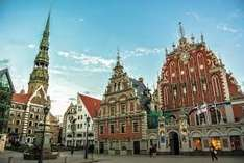 Hin- und Rückflug Lübeck - Riga + 3 Nächte im 4* Hotel mit Frühstück für 2 Personen. Dealpreis für 2 Personen. Links im 1. Kommentar.