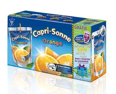 Capri Sonne 10er Pack für 1,69 € bei Aldi Süd am 10.10.2015