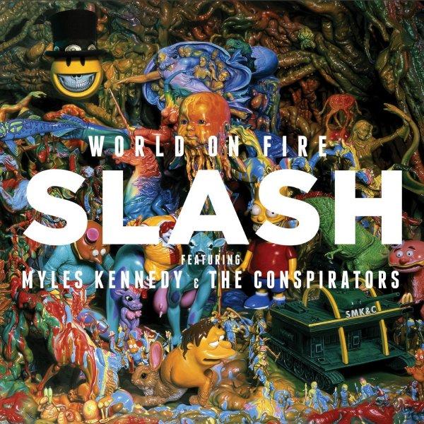 Amazon Prime : CD Slash - World on Fire  - Nur 3,34 €  ( Inklusive kostenloser MP3-Version dieses Albums. )