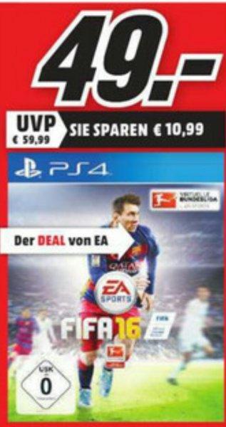 [Media Markt Wuppertal] FIFA 16 PS4