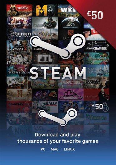 [Steam] Guthaben Karte 50 Pfund (für 56,59€) @ cdkeys.com