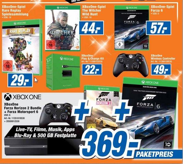 [Expert Gifhorn] XBOX One Forze Horizon 2 Bundle + Forza Motorsport 6 für 369,-€