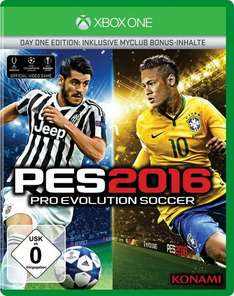 [Müller Sonntagsknüller] Xbox One Pro Evolution Soccer 2016 - Day One Edition für 39,99 €