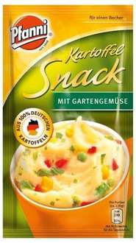 [Amazon.de-Plusprodukt-Sparabo]Pfanni Kartoffelsnack mit Röstzwiebeln, Käse und Croutons,  oder mit Gartengemüse  je 5er-Pack (5 x 180 ml)
