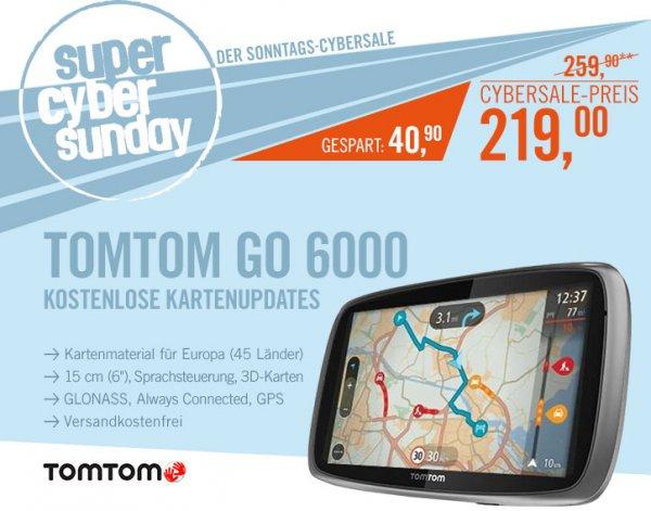 TomTom Go 6000 Europa für 219€
