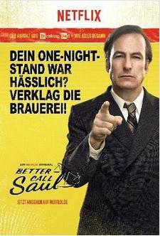 Serien Plakate Narcos, Orange is the new black, Better Call Saul kostenlos