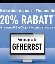20% Rabatt bei GermanFlavours