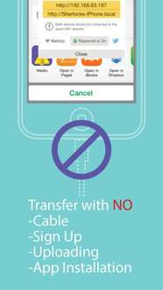[iOS] Weafo - App zum kabellosen übertragen von Dateien