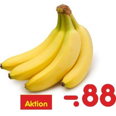 Bananen für 0,88 € / Kg bundesweit bei [ Netto MD ]