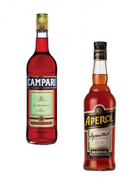 [V-Markt] 2 Flaschen Campari oder Aperol 15€