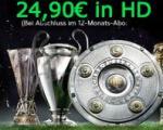 Sky Supersport Paket (2 Pakete inkl. HD) für 24,90€ + 50€ Media Markt Gutschein @Media Markt lokal
