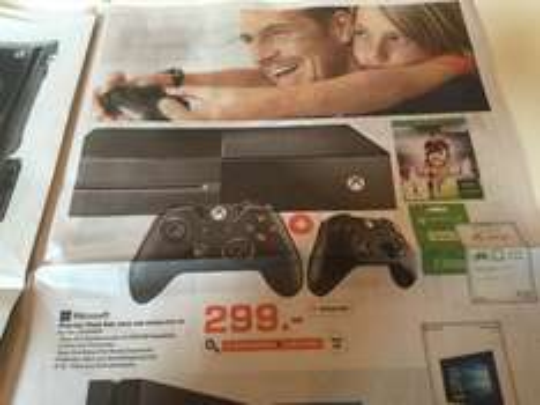 Lokal Saturn Bremen Xbox one Starter Set FIFA 16