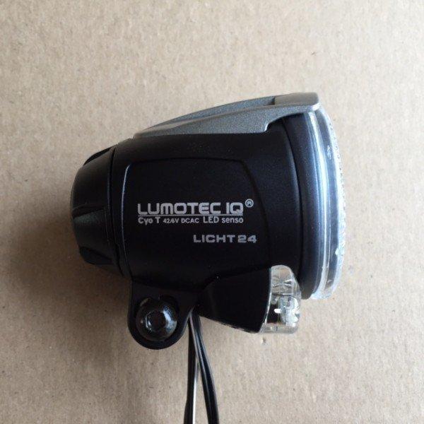 Busch & Müller Lumotec IQ Cyo T Senso 45 Lux 42/6V schwarz/silber