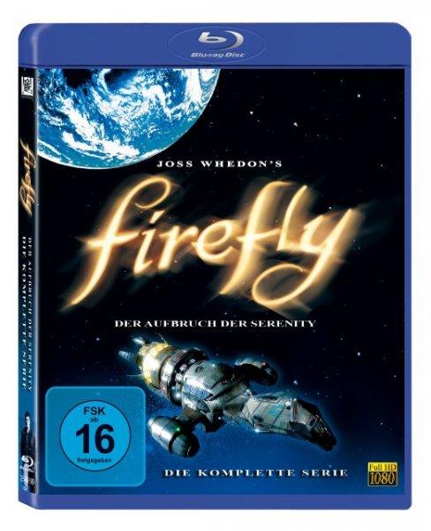 Firefly - Der Aufbruch der Serenity: Die komplette Serie [Blu-ray] für 11,97 € (Prime) > [amazon.de] > Kultserie
