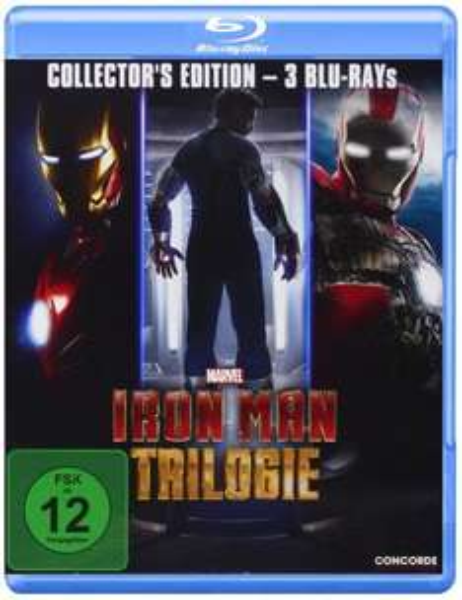 (Amazon.de-Prime) Iron Man Trilogie (Collector's Edition) auf Blu-ray für 8,99€