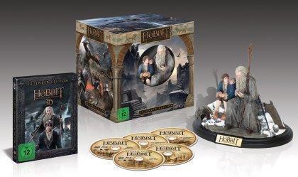 [Alphamovies] Vorbestellung - Der Hobbit - Die Schlacht der fünf Heere - Blu-ray 3D + 2D / Extended Edition / Collector's Edition (Blu-ray) für 59,94€ Versandkostenfrei