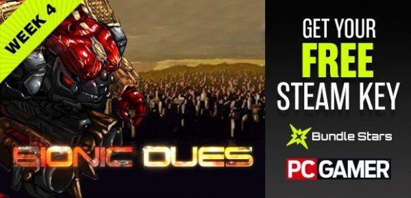 [Steam] Bionic Dues gratis @ PC Gamer (mit Sammelkarten, Facebook benötigt)