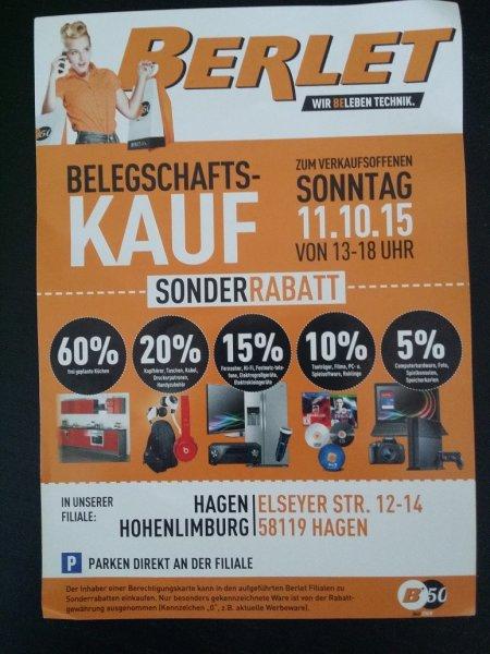 """[Lokal Hagen] Berlet """"Personalverkauf"""" - Diverse gute Angebote z.B. Harman/Kardon Omni 20 - schwarz für 209,09€"""